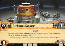 Tiny Robotic Sociopath
