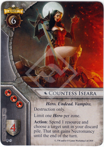 Countess Iseara - March of the Damned - Warhammer ...