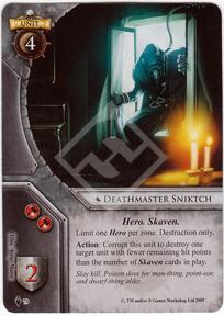 Deathmaster sniktch the deathmaster 39 s dance warhammer for Portent warhammer