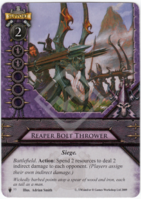 4) dark elf reaper (repeater bolt thrower)