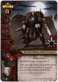 Swords of chaos portent of doom warhammer invasion for Portent warhammer